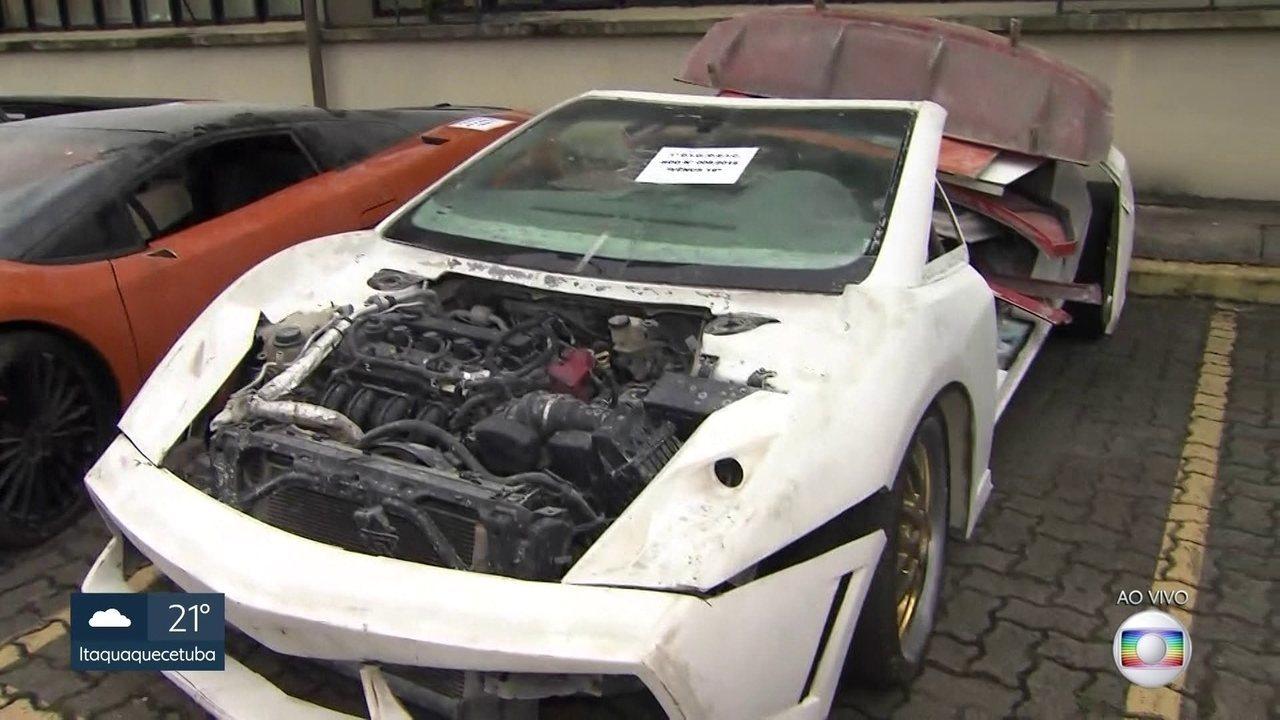 f416b1f10 Polícia encontra Ferrari e Lamborghini falsificados em oficina em SP ...