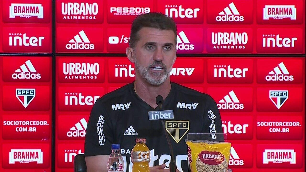 Assista na íntegra a entrevista coletiva de Vagner Mancini no São Paulo 6b36b7c731178