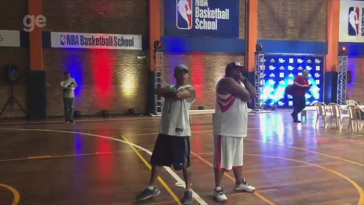 c848fb542863b Escola da NBA inicia operações no RS e faz crianças sonharem ...