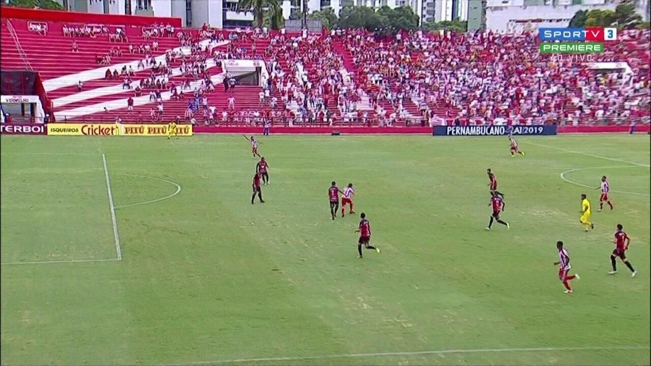 Assista aos melhores momentos de Náutico 4 x 2 Flamengo-PE pelo Pernambucano 2019