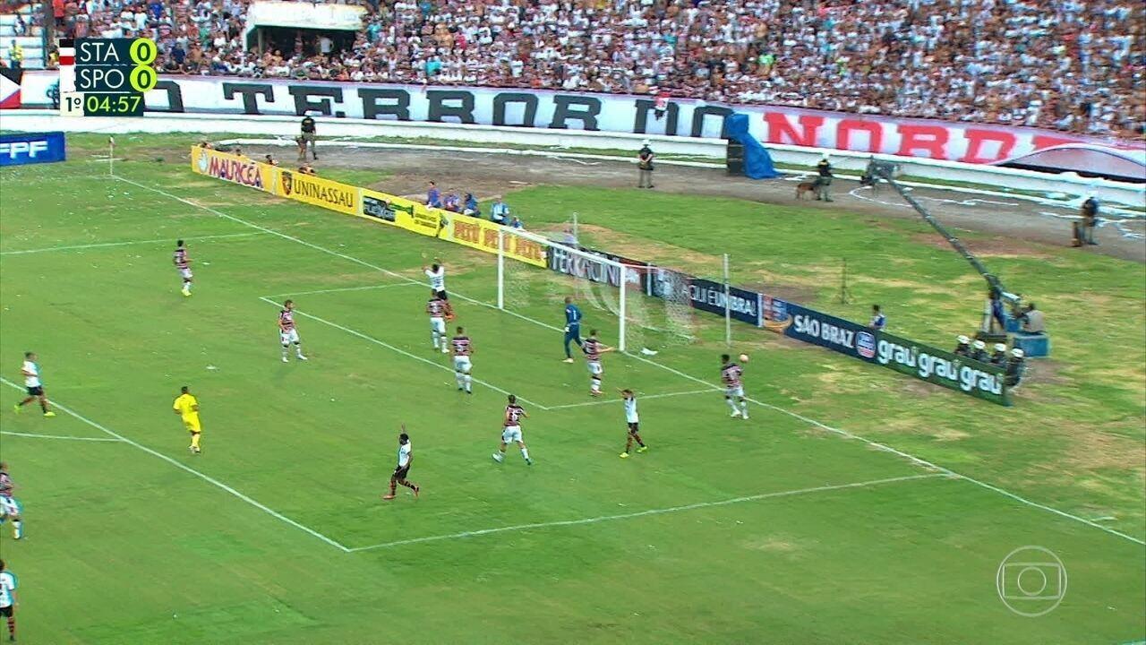 Melhores momentos de Santa Cruz 1 x 0 Sport pelo Campeonato Pernambucano