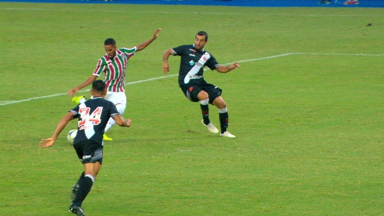 f788865f6f Melhores momentos  Vasco 1 x 0 Fluminense pela final da Taça Guanabara