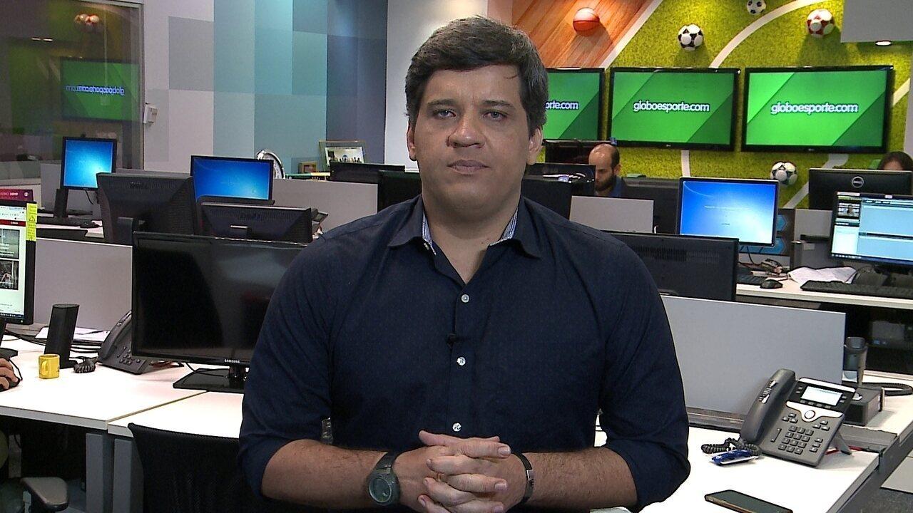 Cabral Neto analisa Wallace Pernambucano, ponto forte do Náutico