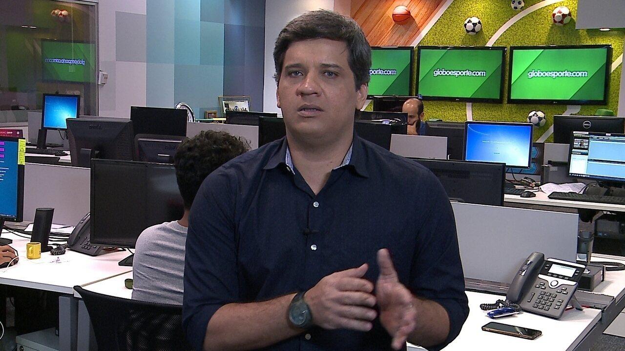 Cabral Neto analisa a parte tática do Santa Cruz
