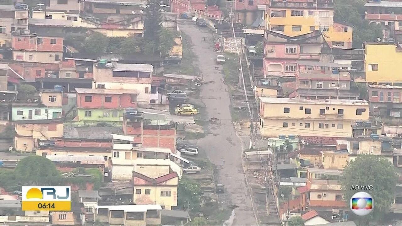 Polícia faz operação no Complexo da Penha