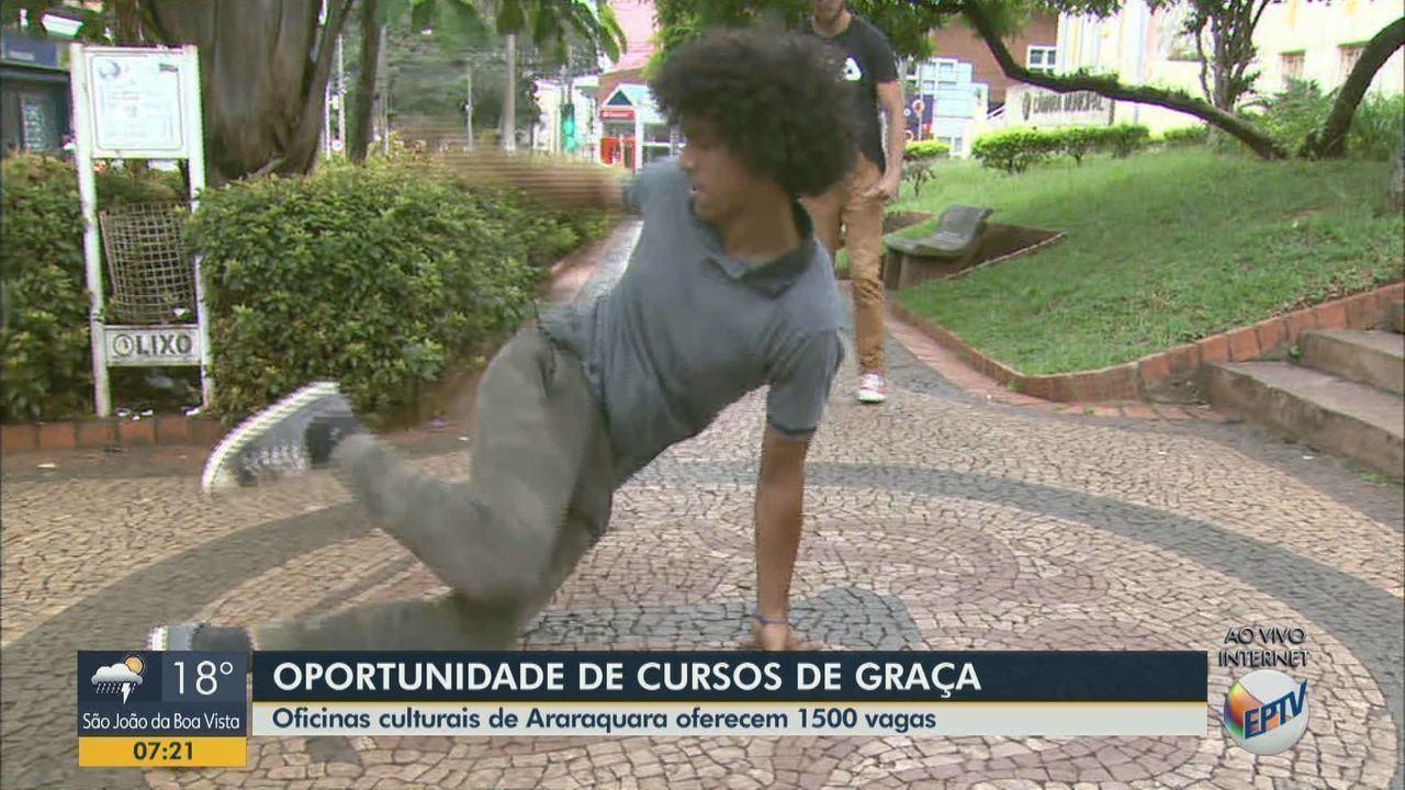 Oficinas Culturais de Araraquara oferecem 1,5 mil vagas