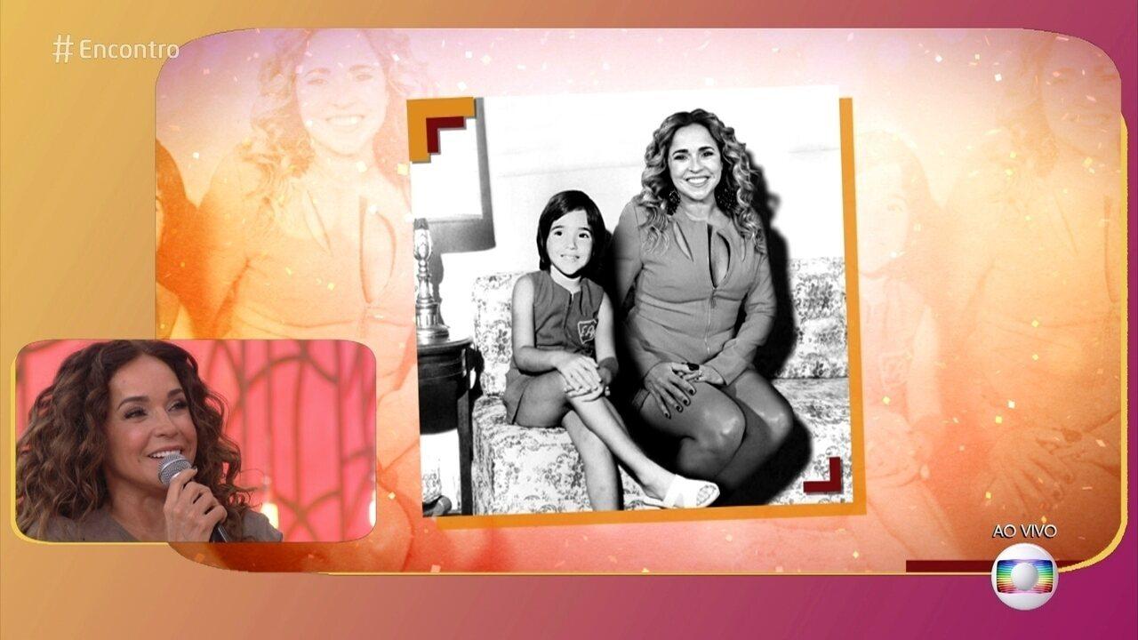 'Confie mais em você', aconselha Daniela Mercury para a pequena Dani