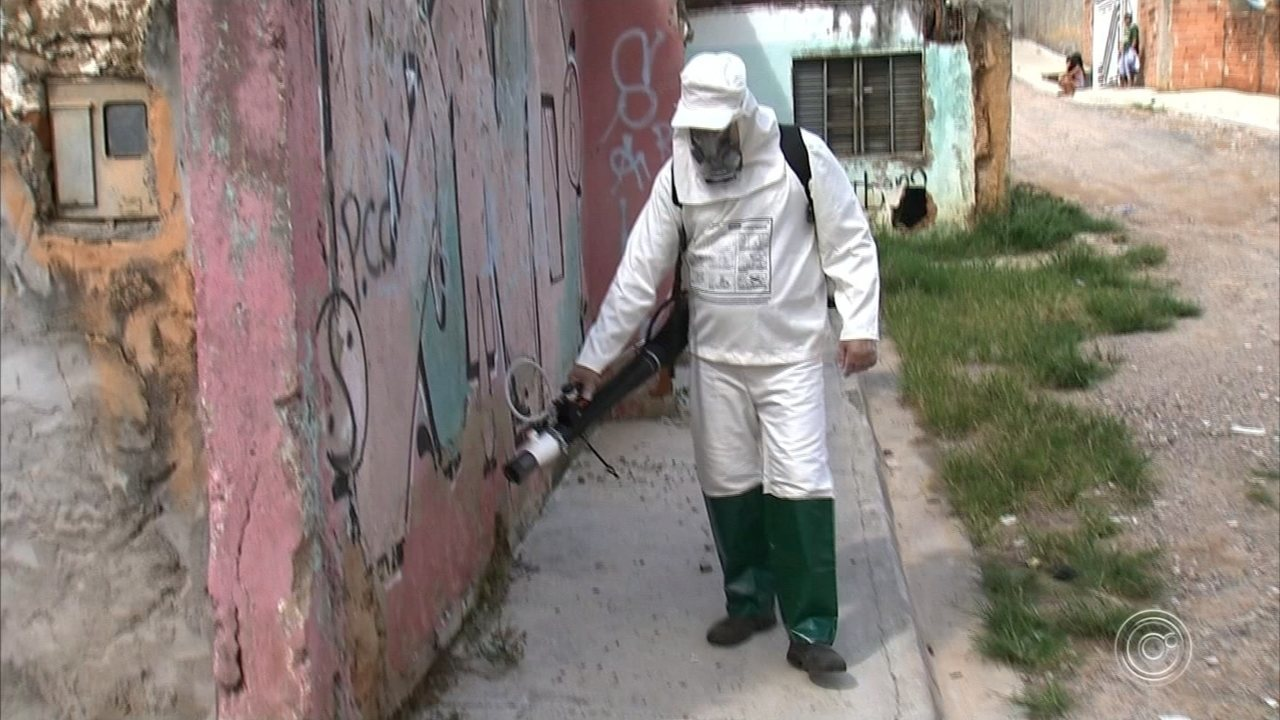 Zoonoses realiza ação emergencial de combate ao Aedes aegypti no Jardim Novo Horizonte