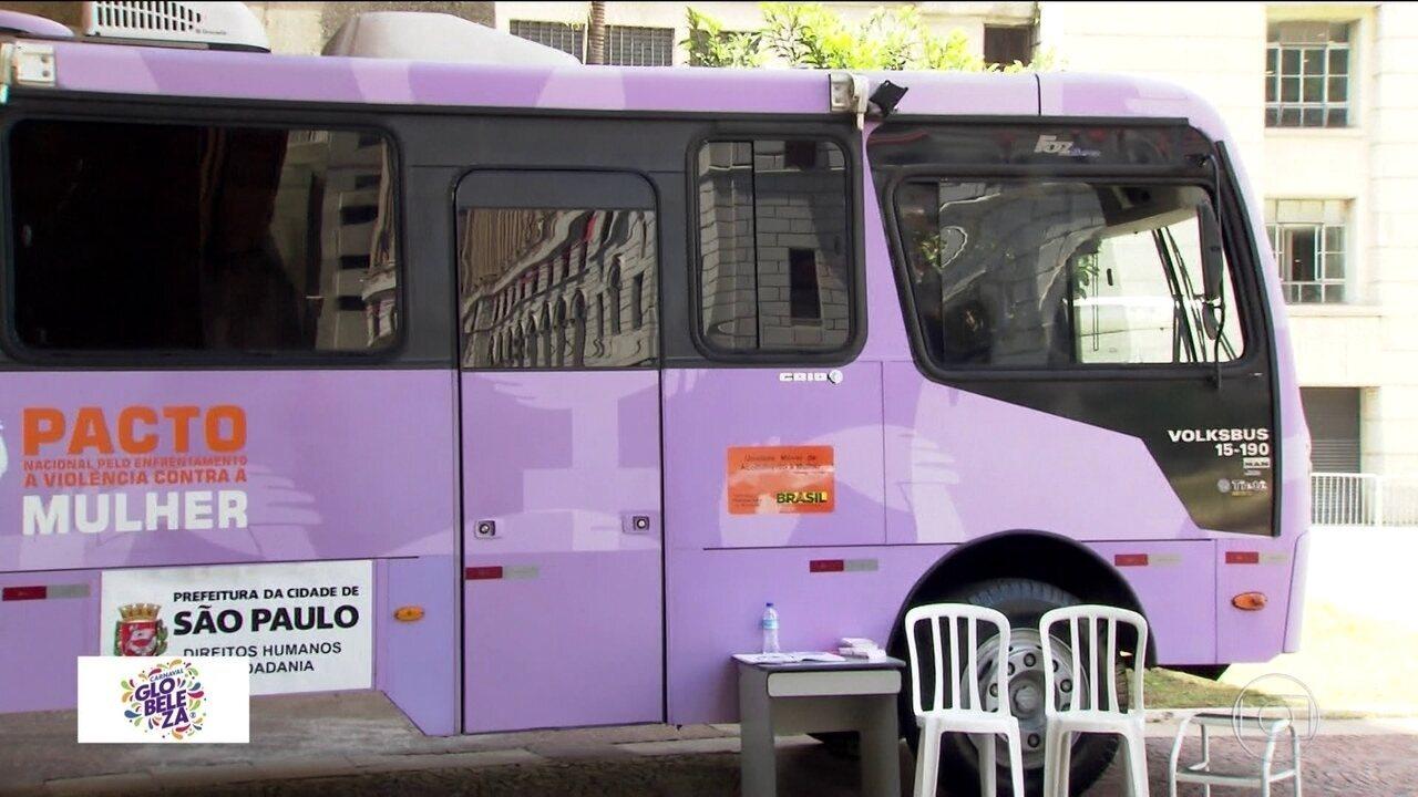 Carnaval: ônibus contra assédio estará nos blocos