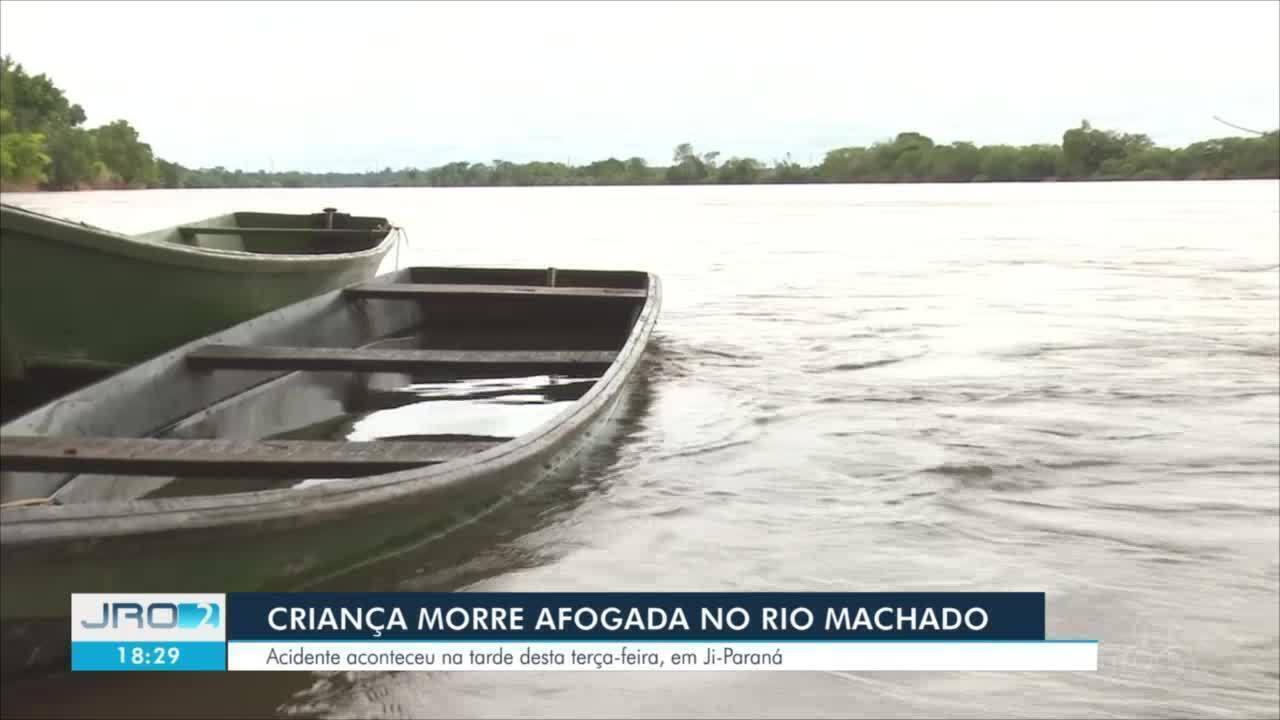 Criança de 1 ano e 6 meses morre afogada em Ji-Paraná