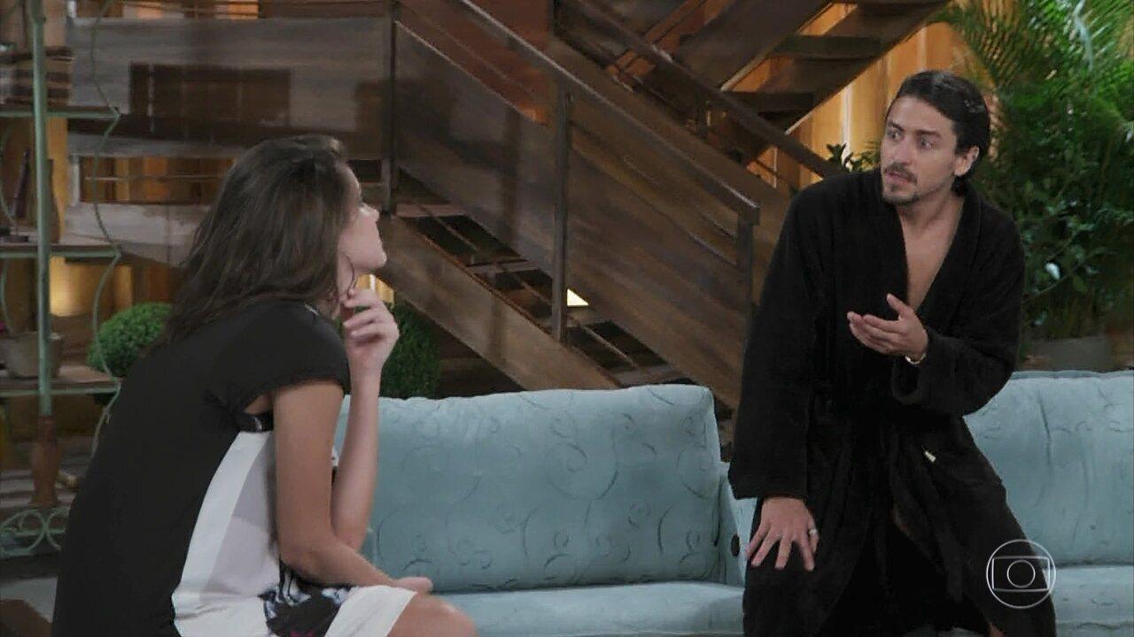 Vanessa descobre toda a verdade sobre Jerônimo em 'Verão 90'