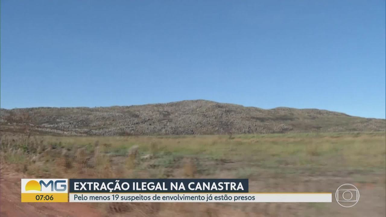 Polícia Federal prende suspeitos de extrair ilegalmente pedras de quartzito em Minas Gerai