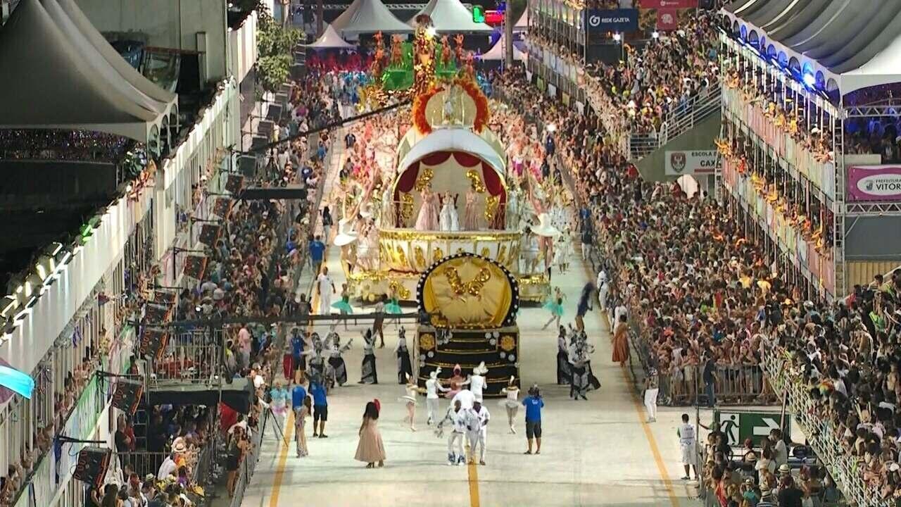 Carnaval de Vitória 2019: Confira o desfile da Pega no Samba! - G1 ...