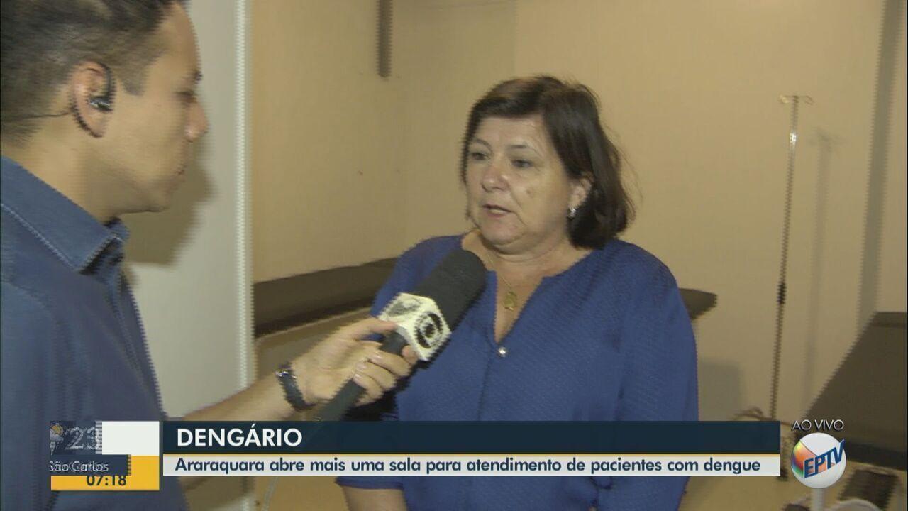 2º 'dengário' começa a funcionar em Araraquara