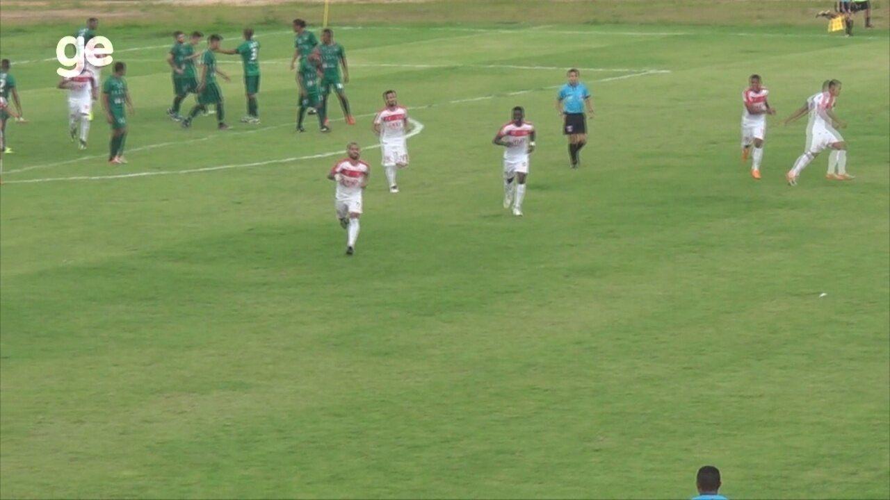 Veja os gols de Princesa 2 x 1 Manaus, pelo Amazonense