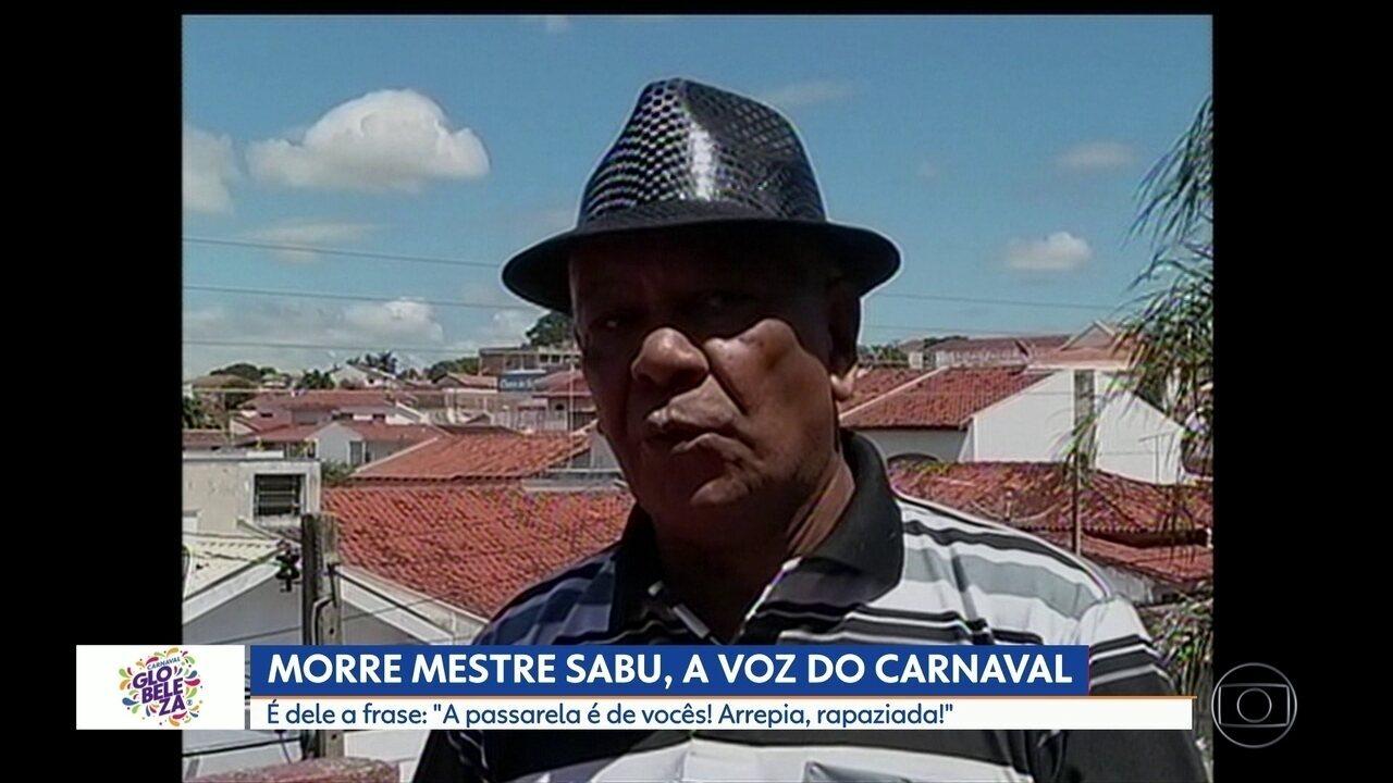 Morre Mestre Sabu, a voz do carnaval