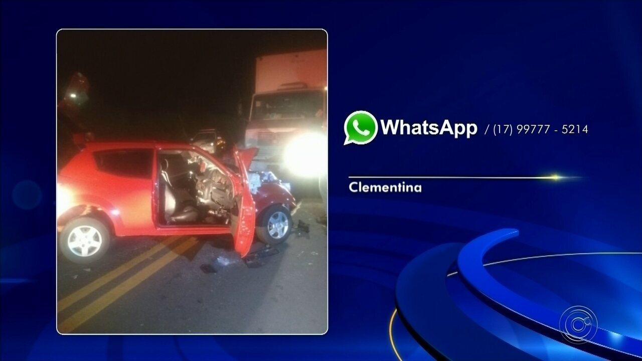Duas pessoas morrem em acidente na Rodovia Deputado Jorge Maluly Neto