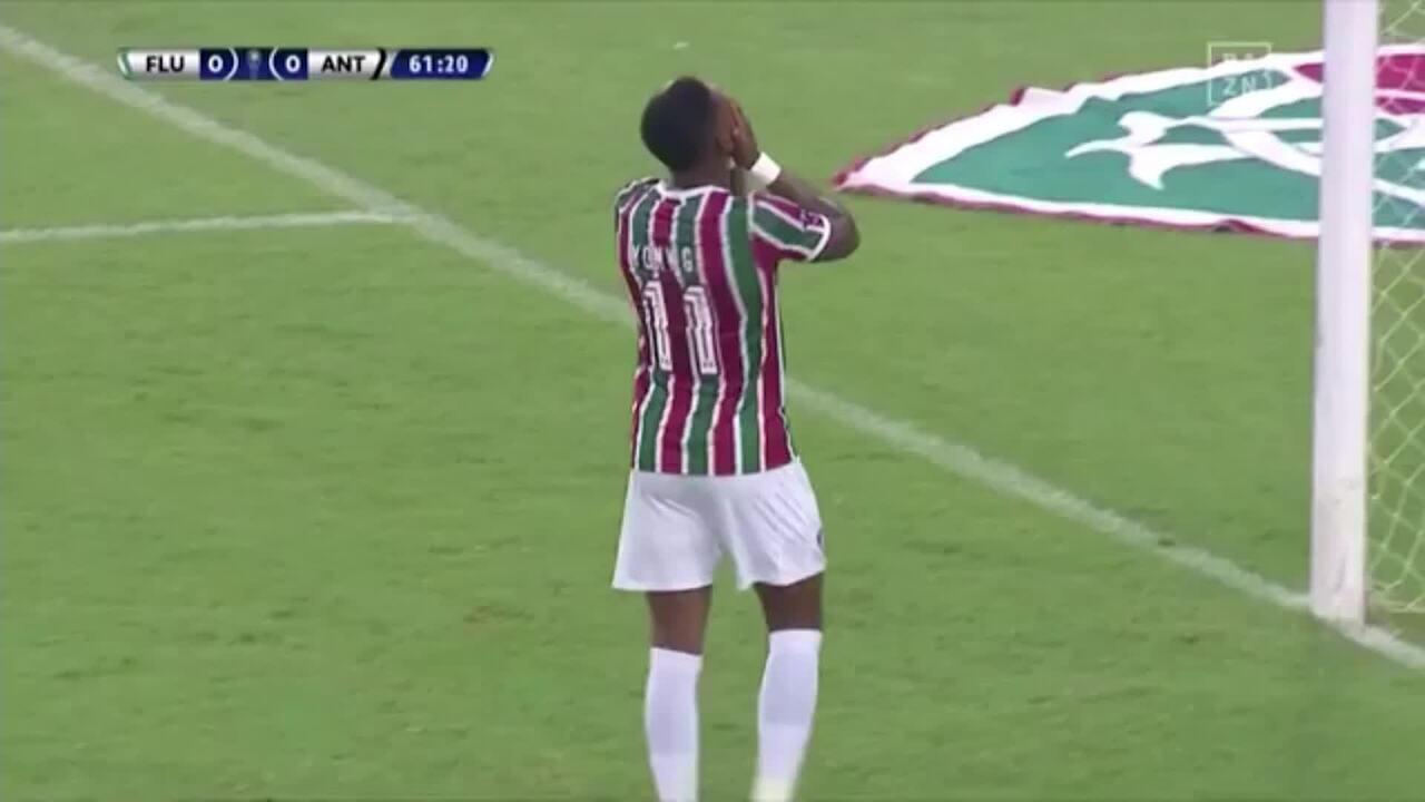 Melhores momentos de Fluminense 0 x 0 Antofagasta-CHI pela Copa Sul-Americana 2019