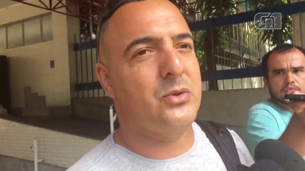 Passageiro conta como foi a colisão entre trens na estação de São Cristóvão