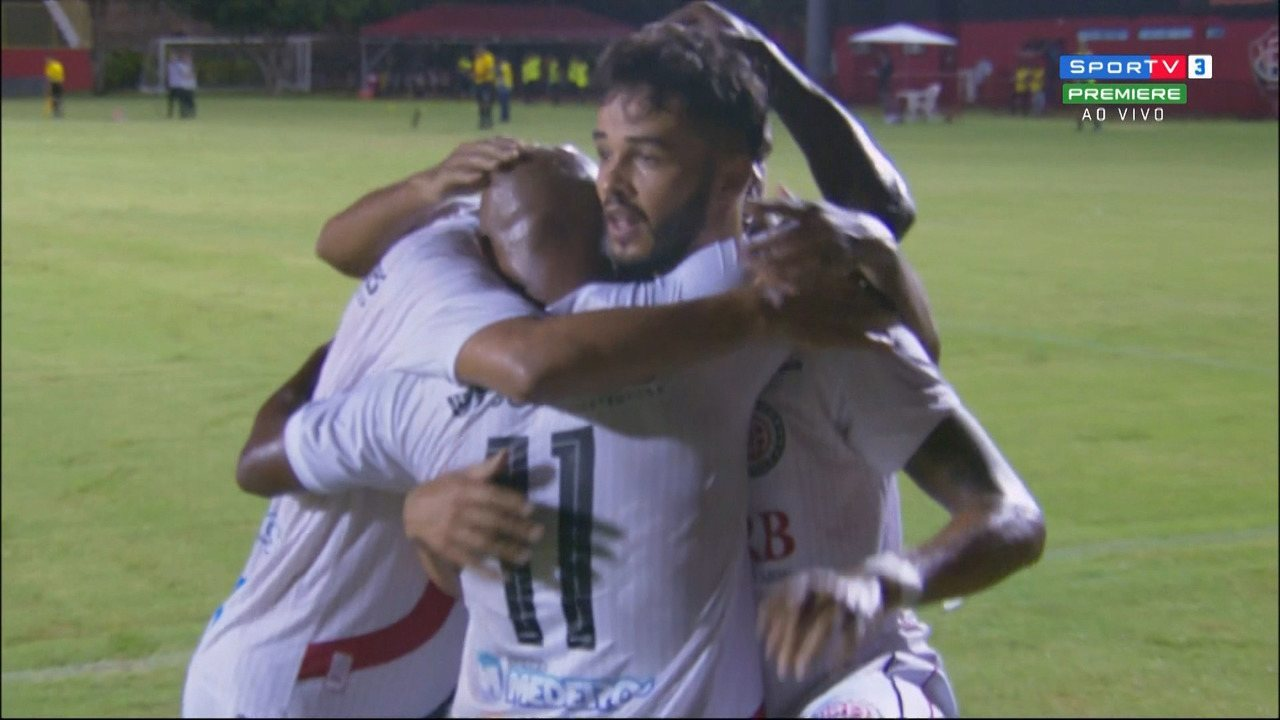 Veja os gols de Vitória 1 x 2 Atlético de Alagoinhas