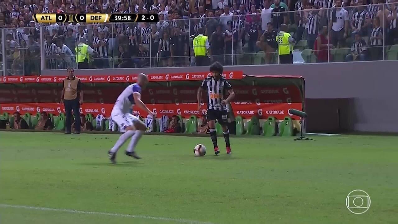 Melhores momentos: Atlético-MG 0 x 0 Defensor-URU pela Taça Libertadores da América