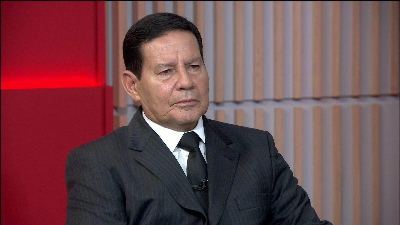 Resultado de imagem para Mourão comenta riscos de guerra civil na Venezuela