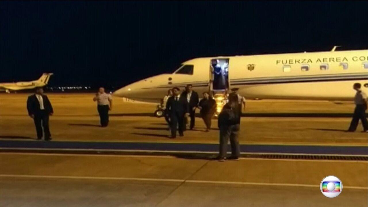 Juan Guaidó chega a Brasília para encontro com Bolsonaro