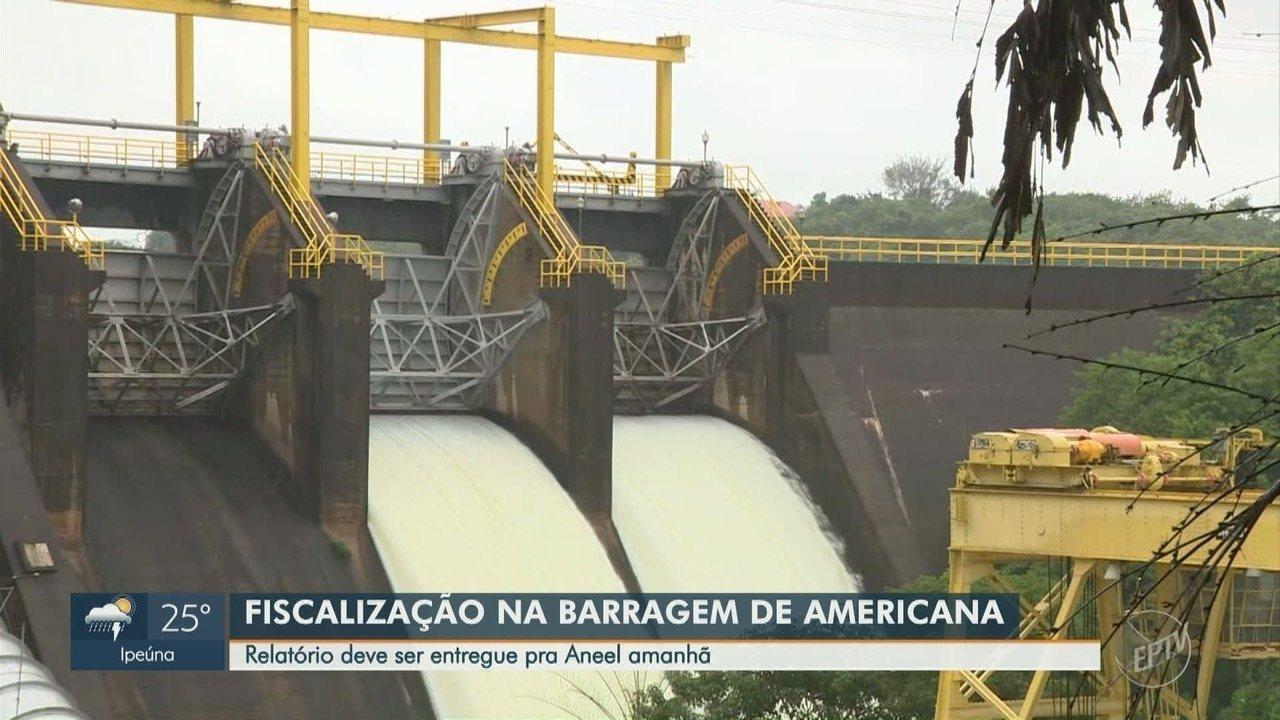Barragem de Americana passou por fiscalização