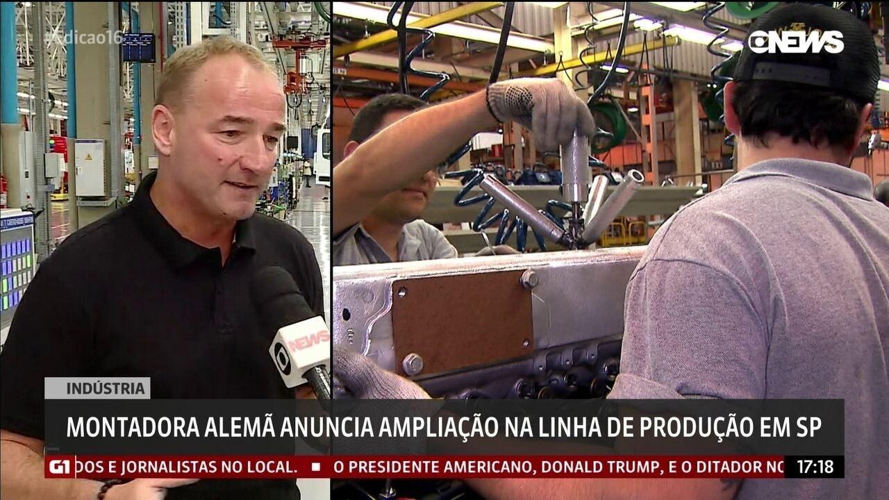 Mercedes-Benz anuncia ampliação na linha de produção em SP
