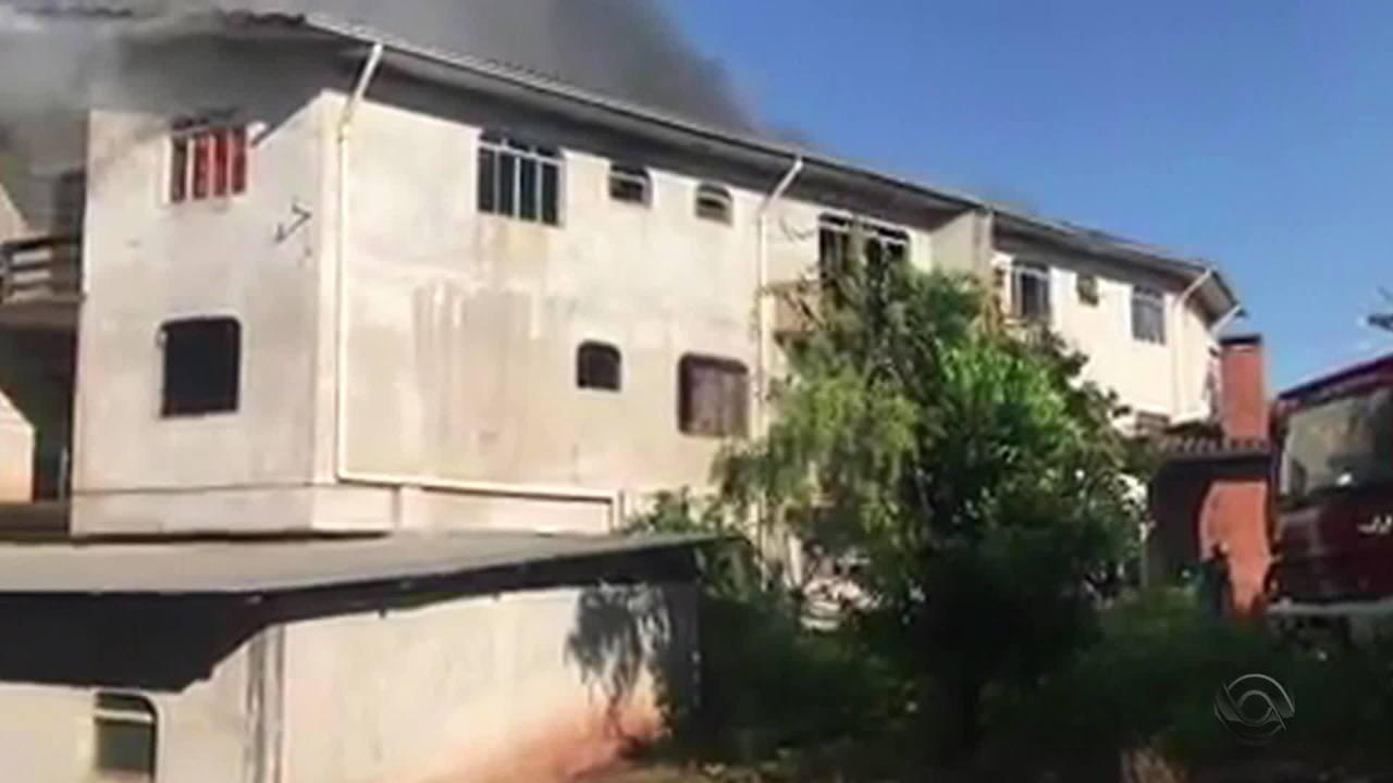 Duas pessoas morrem durante incêndio em prédio em São José do Ouro