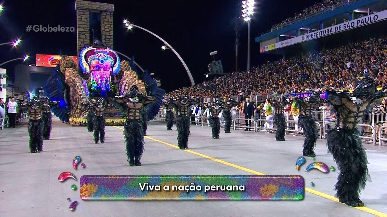 História e cultura do Peru são exaltadas no samba da Vila Maria