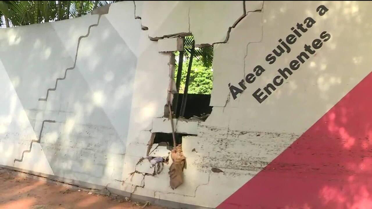 Sede social do São Paulo é interditada após alagamento