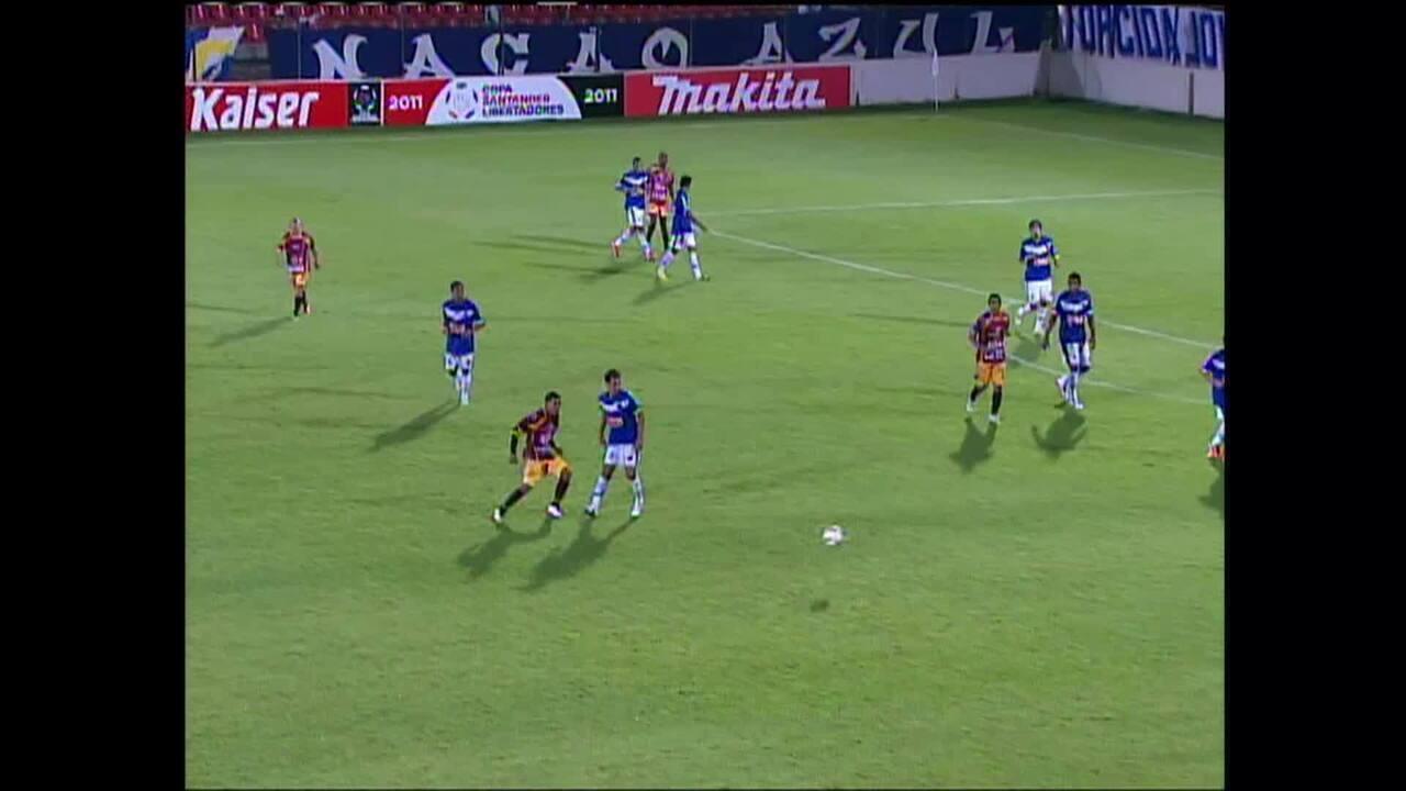 Cruzeiro goleia Tolima pela Libertadores de 2011