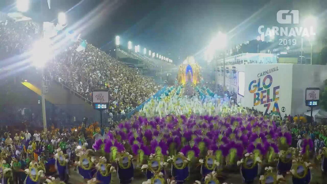 Carnaval 2019 G1: Timelapse Vila Isabel