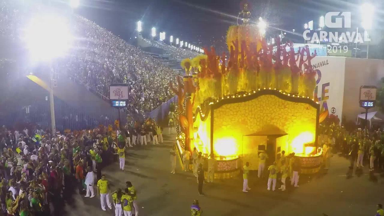 Carnaval 2019 G1: Timelapse Paraíso do Tuiuti