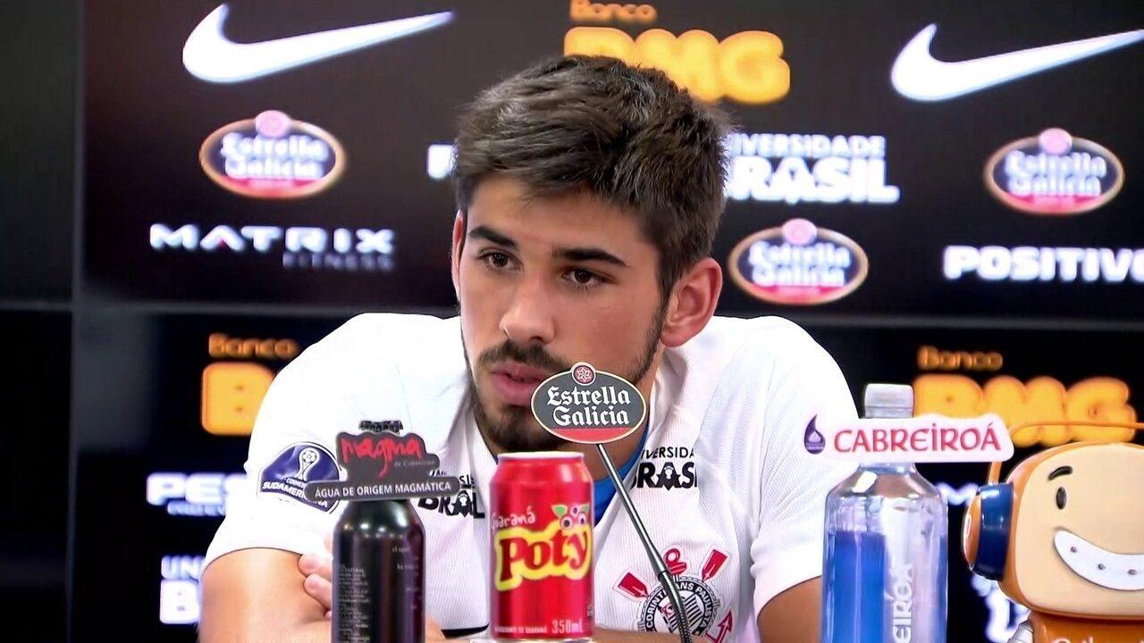 Veja como foi a apresentação de Bruno Méndez no Corinthians