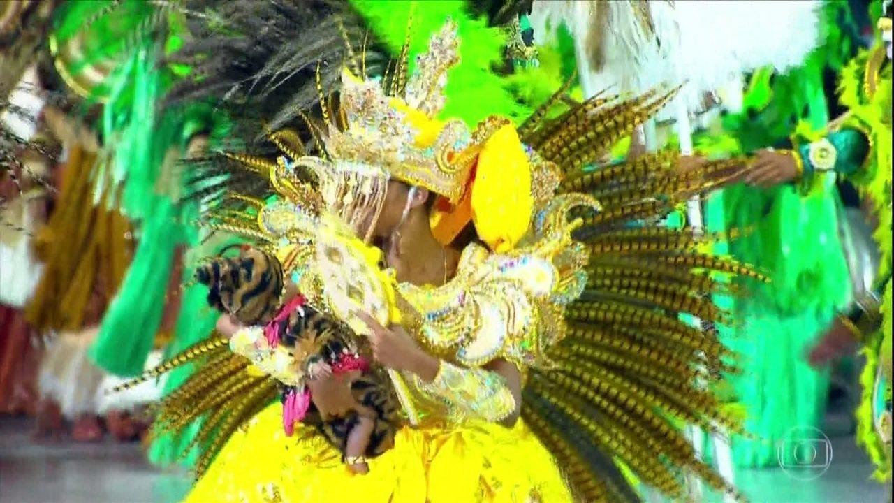 Confira o clipe especial da escola de samba Mancha Verde, campeã do carnaval de SP