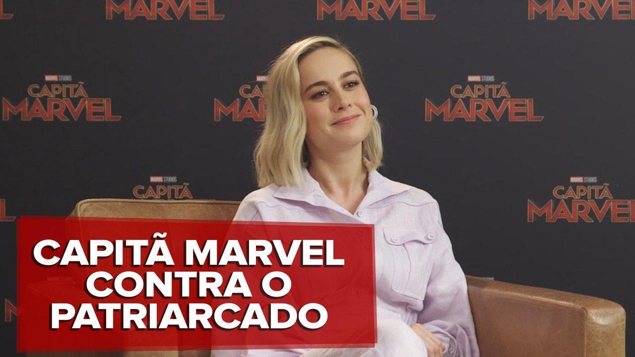 Assista entrevista com Brie Larson sobre o filme