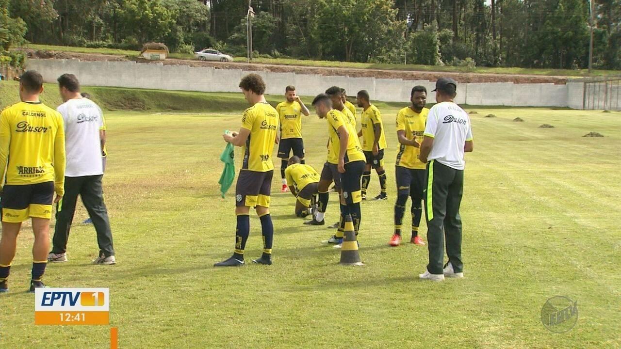 Sob o comando de Mauro Fernandes, Caldense cresce e busca terceira vitória no Mineiro
