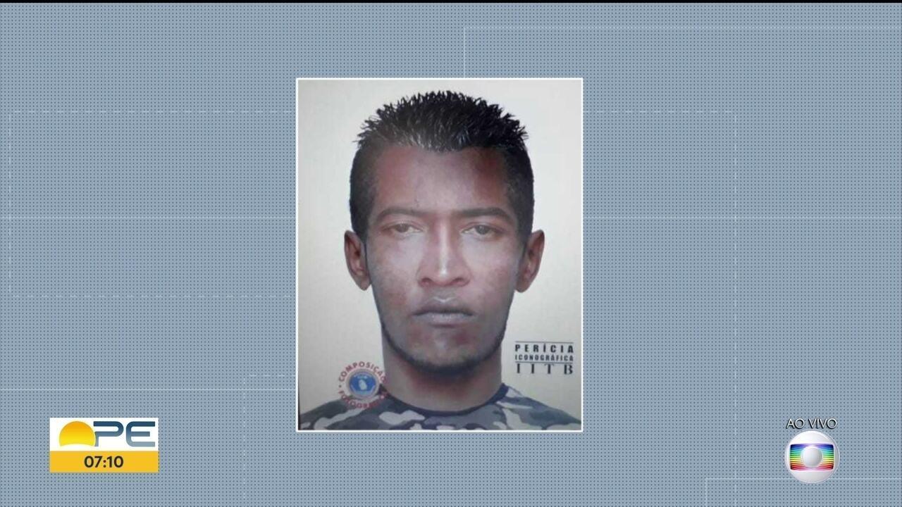 Retrato falado de suspeito de dar agulhadas no carnaval é divulgado pela polícia