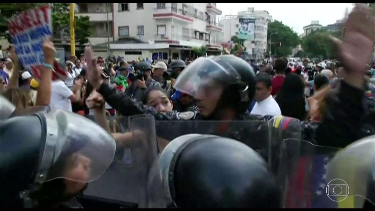 Juan Guaidó convoca protesto neste sábado (9) contra governo de Nicolás Maduro