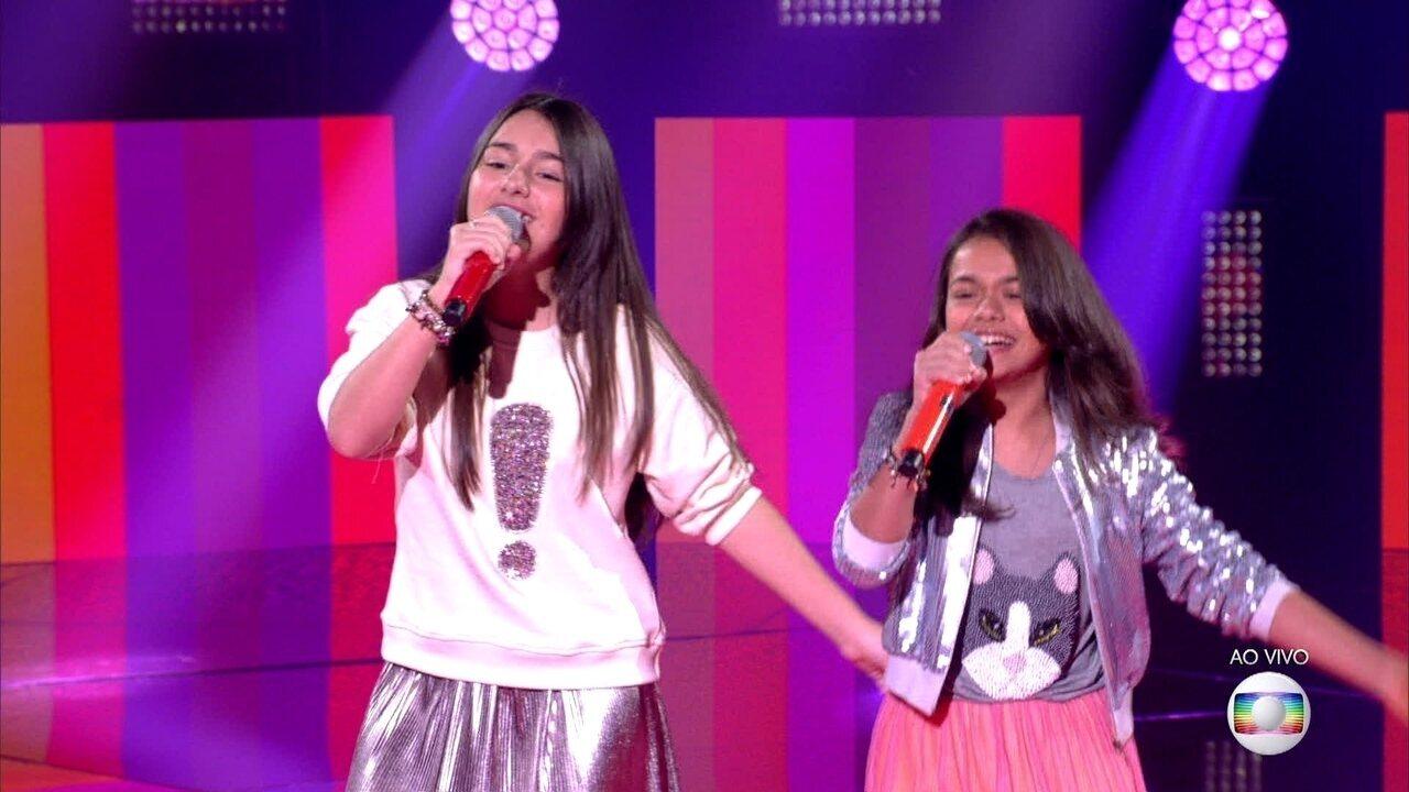 """Isabella e Rachel Aguiar cantam """"Got To Be Real""""; reveja a apresentação"""