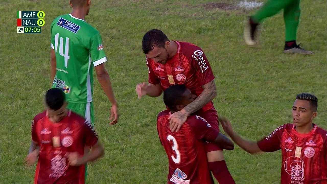Relembre único gol de Sueliton pelo Náutico na temporada