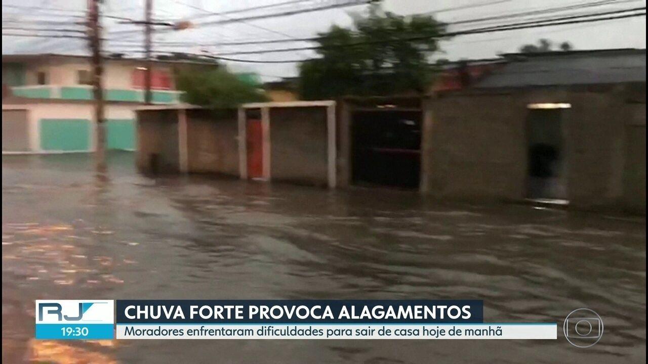 Pode chover forte ao longo da semana no Rio
