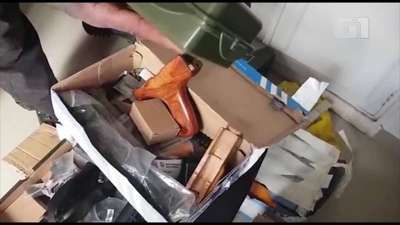 Polícia encontra armas na casa de Ronnie Lessa no Méier