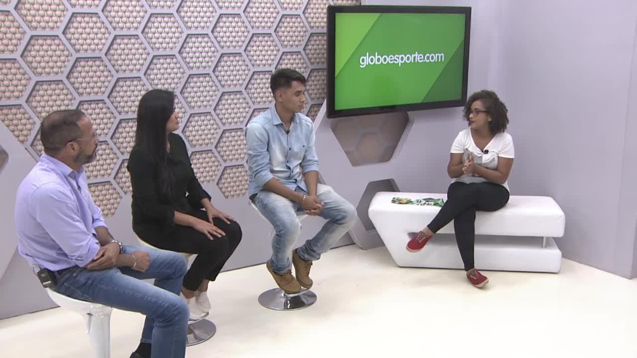 Bate-papo GE: Família Silva, medalhista no Rondoniense de Jiu-Jítsu, fala de benefício do esporte