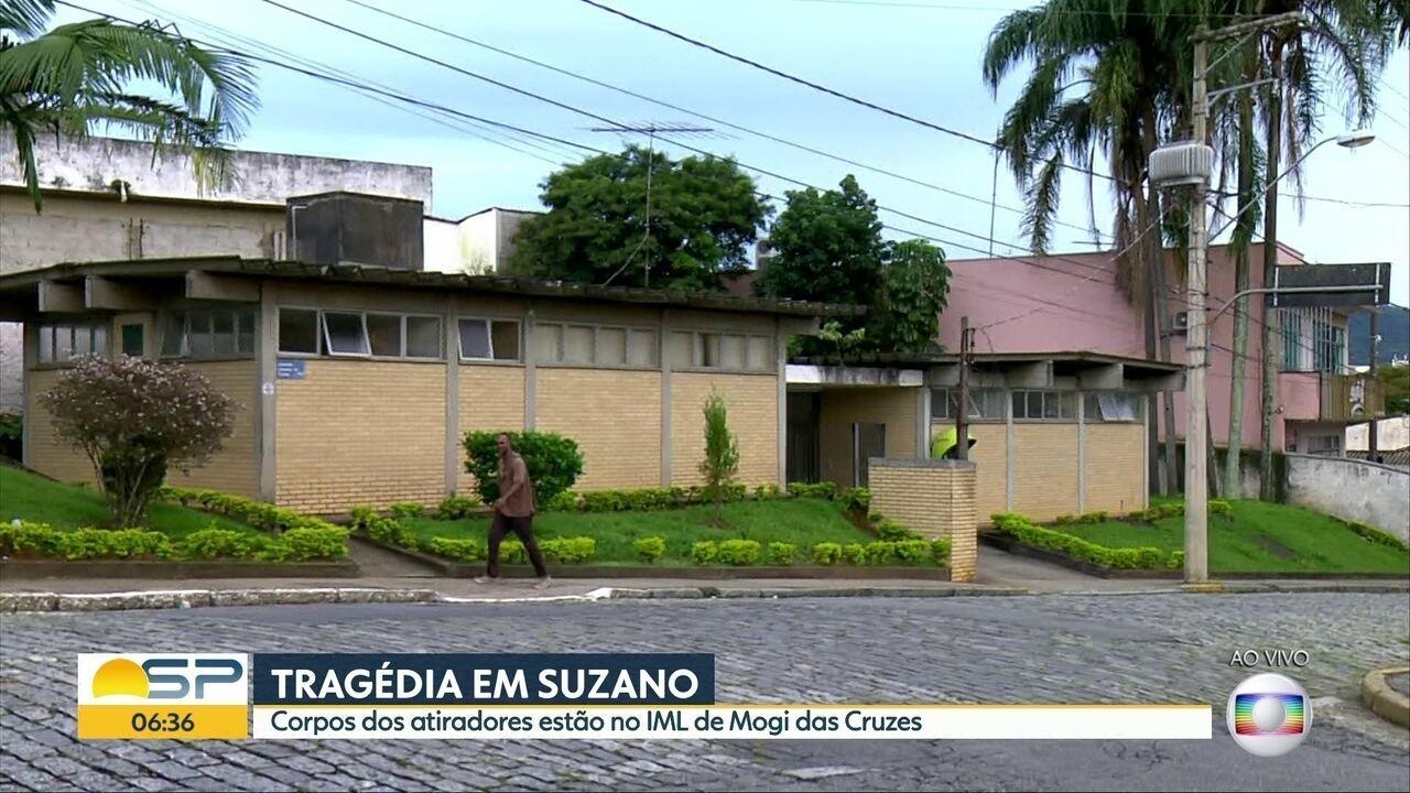 Atiradores de escola em Suzano serão enterrados após as vítimas