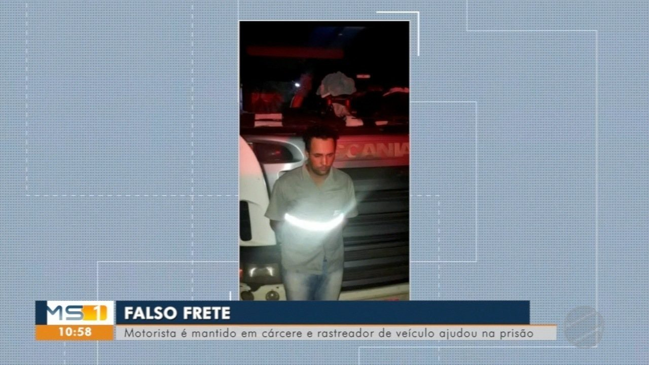 Falso frete: motorista é mantido em cárcere e rastreador de veículo ajuda na prisão do sus
