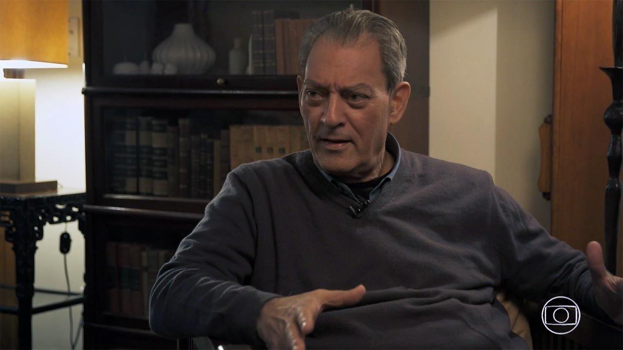 Paul Auster - Um dos maiores escritores americanos vivos, Paul Auster recebe Pedro Bial em sua casa, em NY, onde descreve os acontecimentos pessoais que influenciaram diretamente na sua obra.