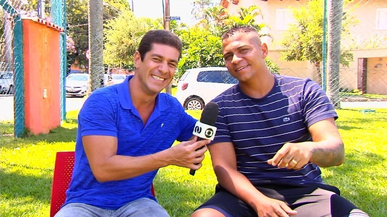 Walter abriu o jogo em entrevista exclusiva ao Globo Esporte